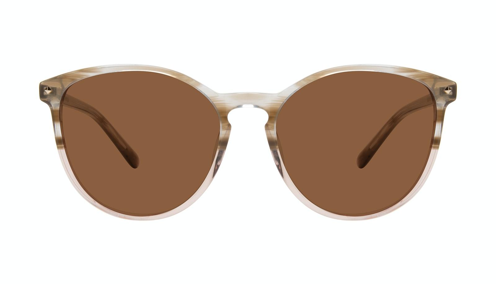 Affordable Fashion Glasses Round Sunglasses Women Viva Rosewood