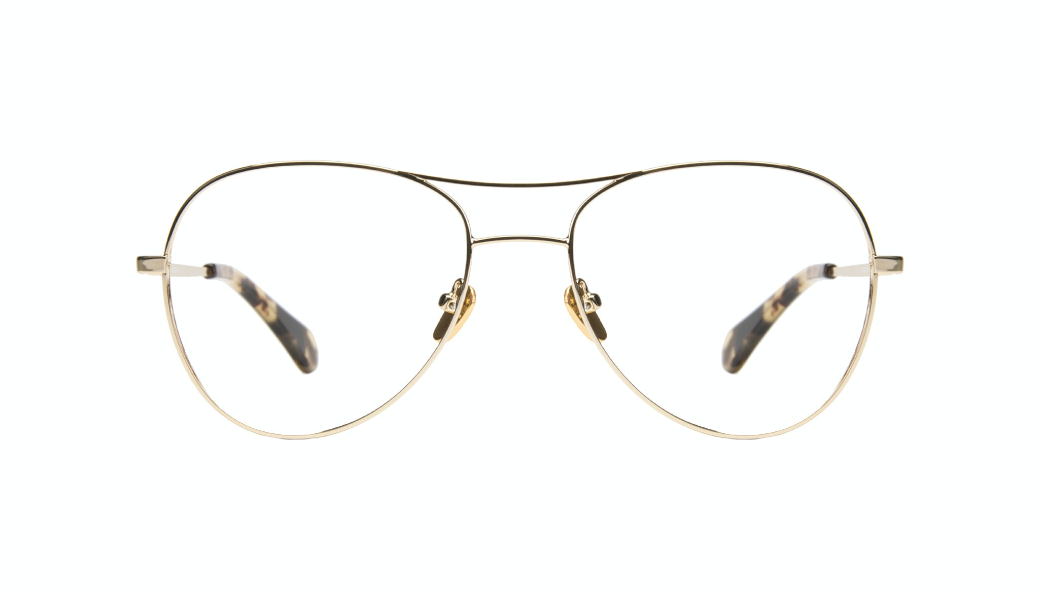 Affordable Fashion Glasses Aviator Eyeglasses Women Want Gold