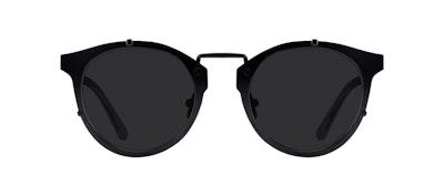 Affordable Fashion Glasses Round Sunglasses Men Way Black Front