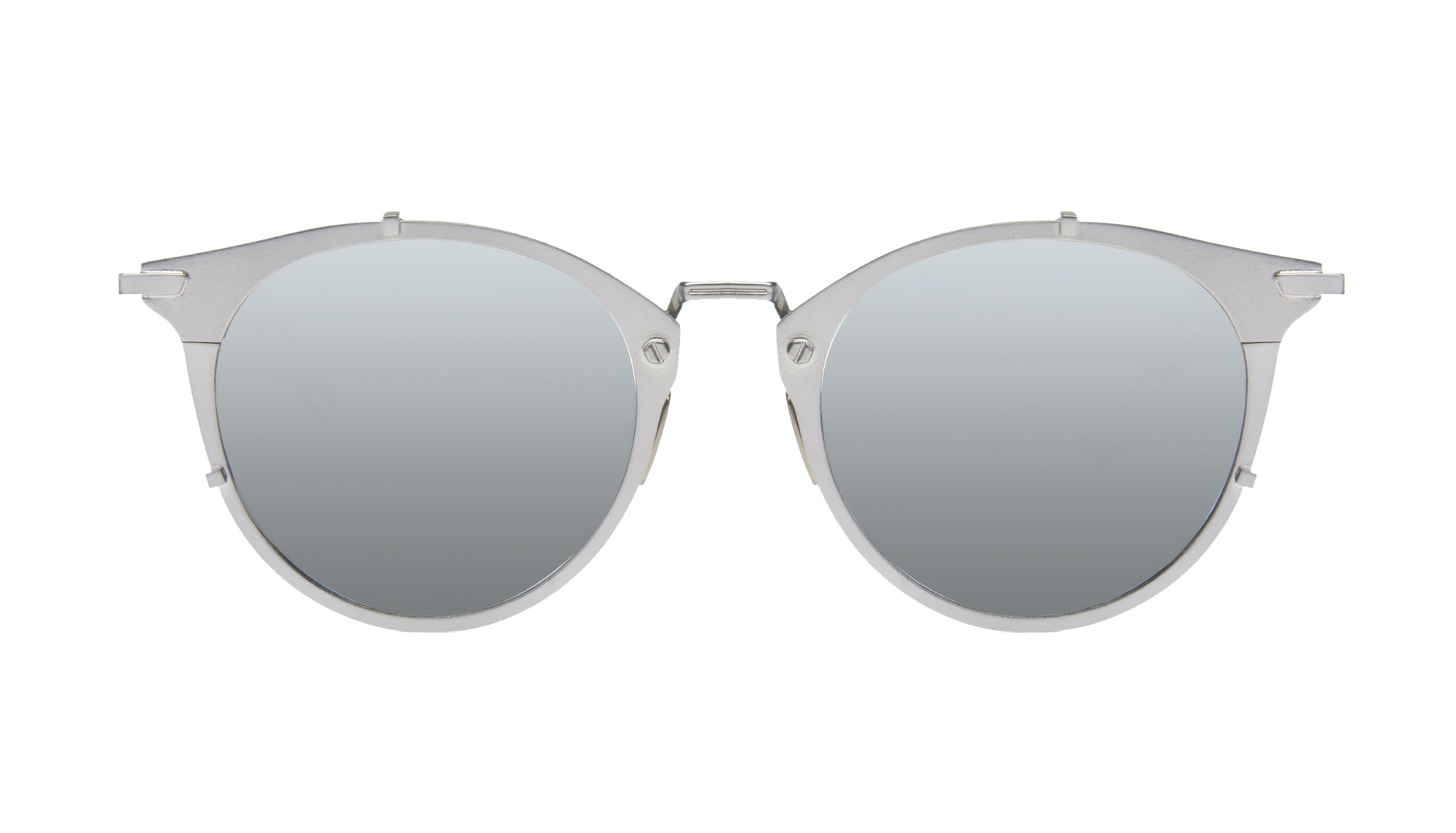Affordable Fashion Glasses Round Sunglasses Men Way Silver