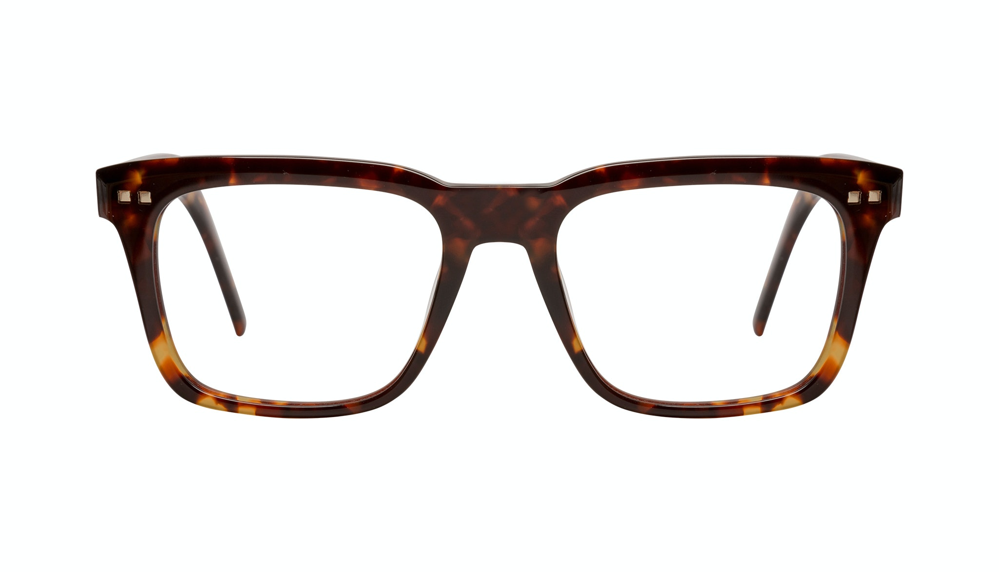 Affordable Fashion Glasses Square Eyeglasses Men Well Tortoise Front
