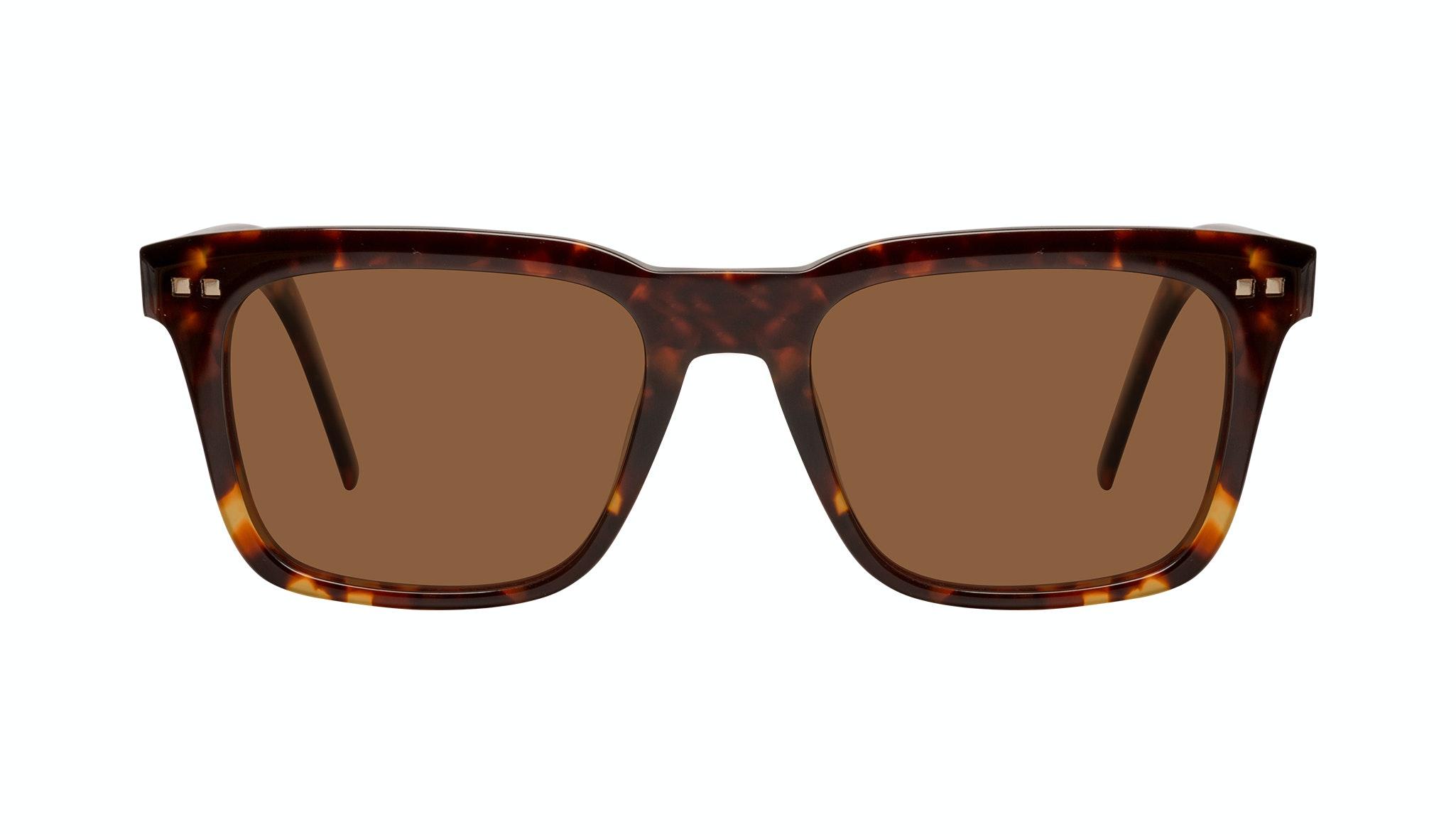 Affordable Fashion Glasses Square Sunglasses Men Well Tortoise Front