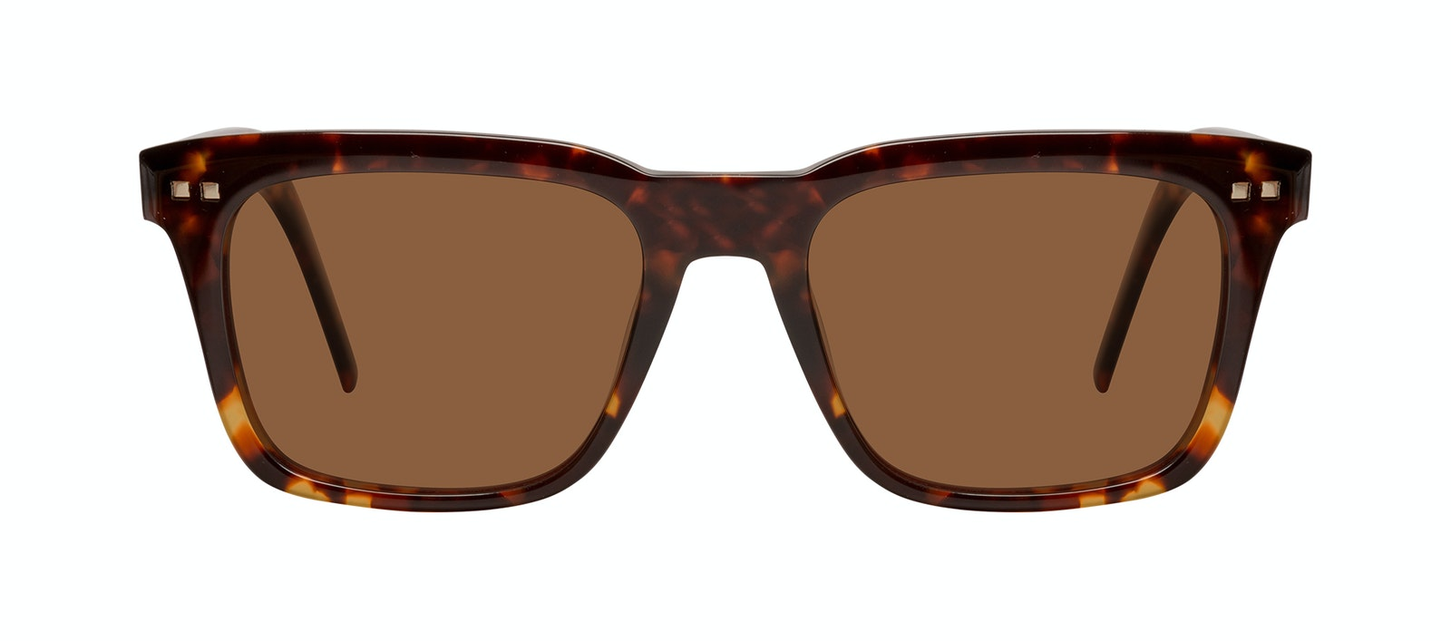 Affordable Fashion Glasses Square Sunglasses Men Well Tortoise Front