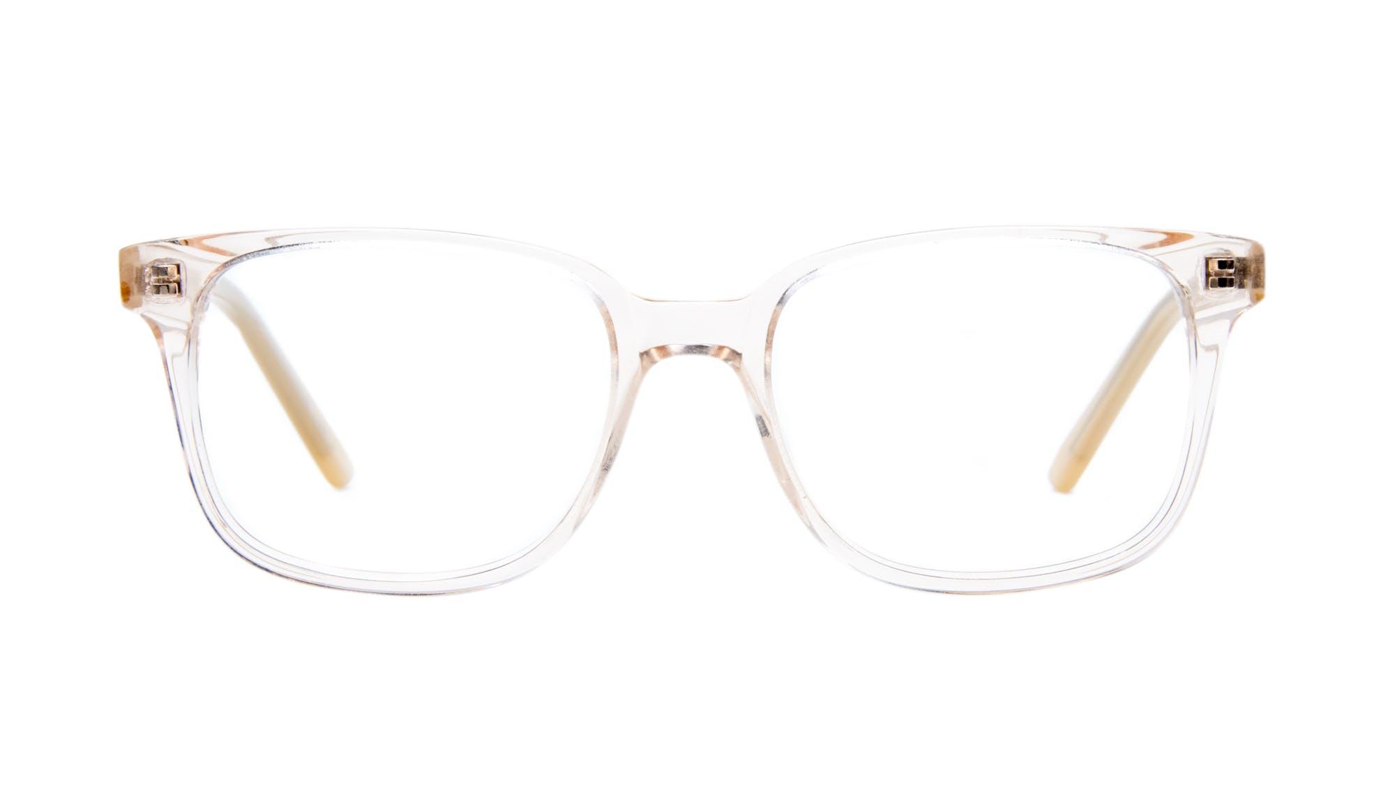 Affordable Fashion Glasses Rectangle Square Eyeglasses Women Windsor Blond Metal