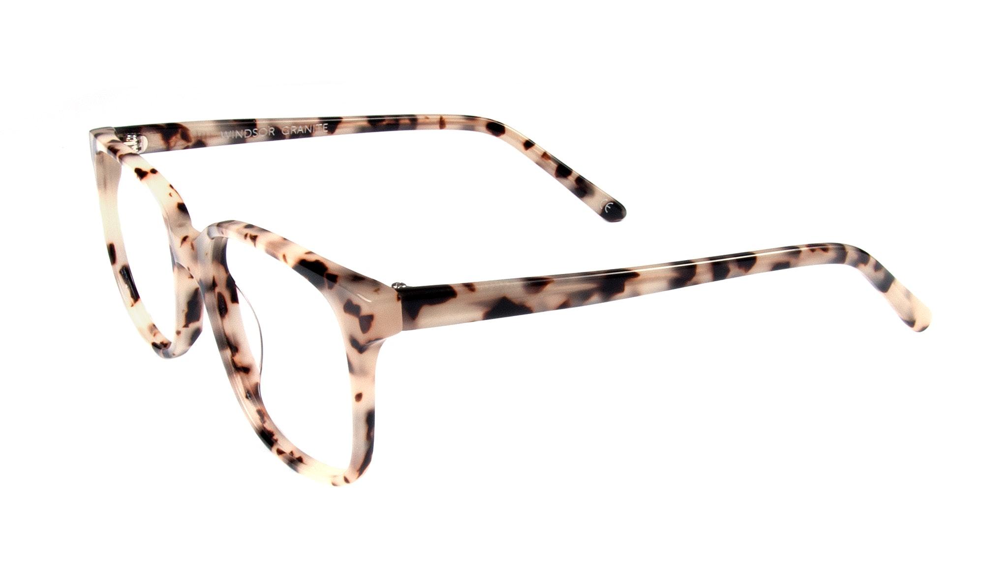 Affordable Fashion Glasses Square Eyeglasses Men Women Windsor Granite Tilt