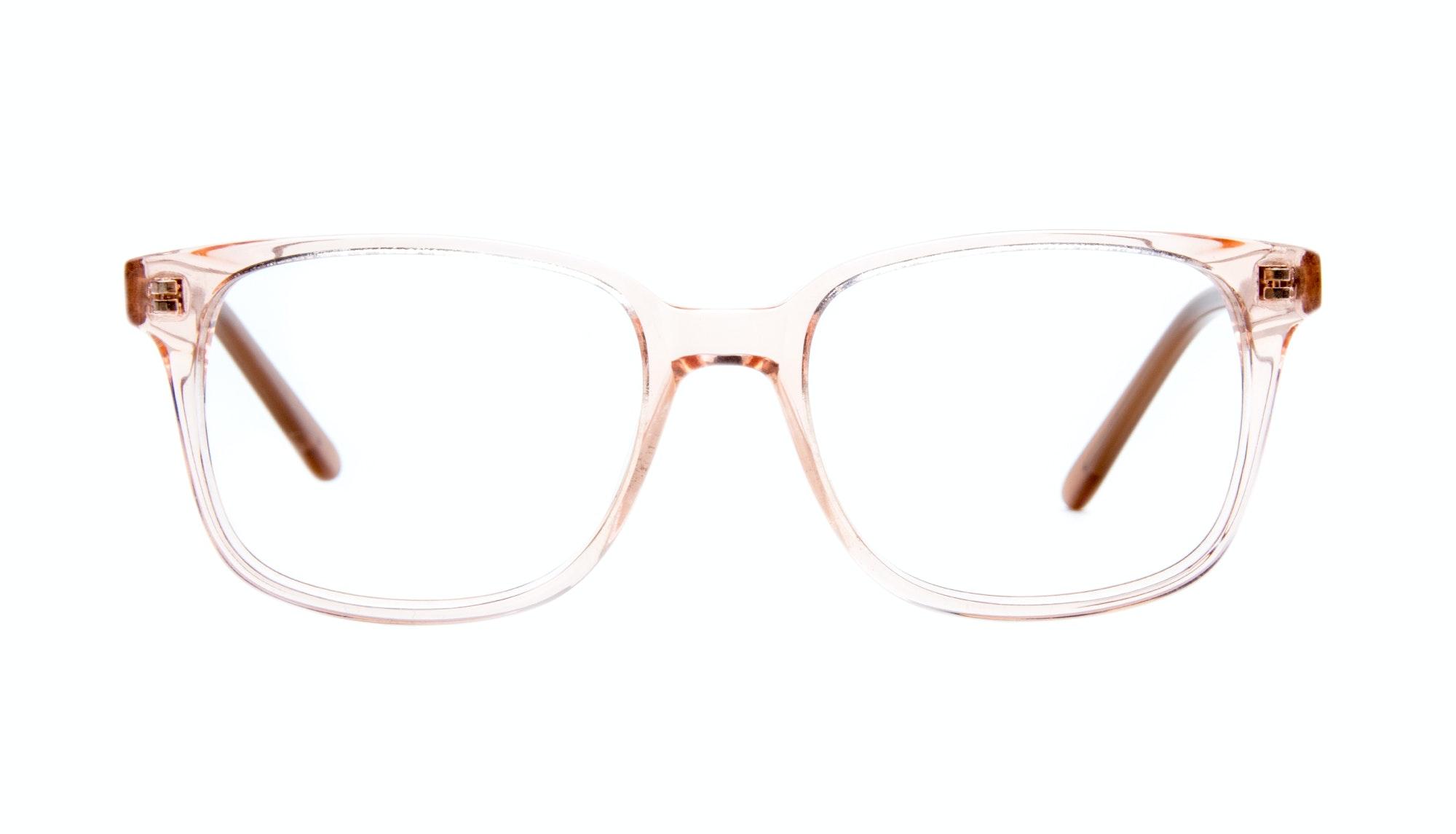 Affordable Fashion Glasses Rectangle Square Eyeglasses Women Windsor Pink Metal Front