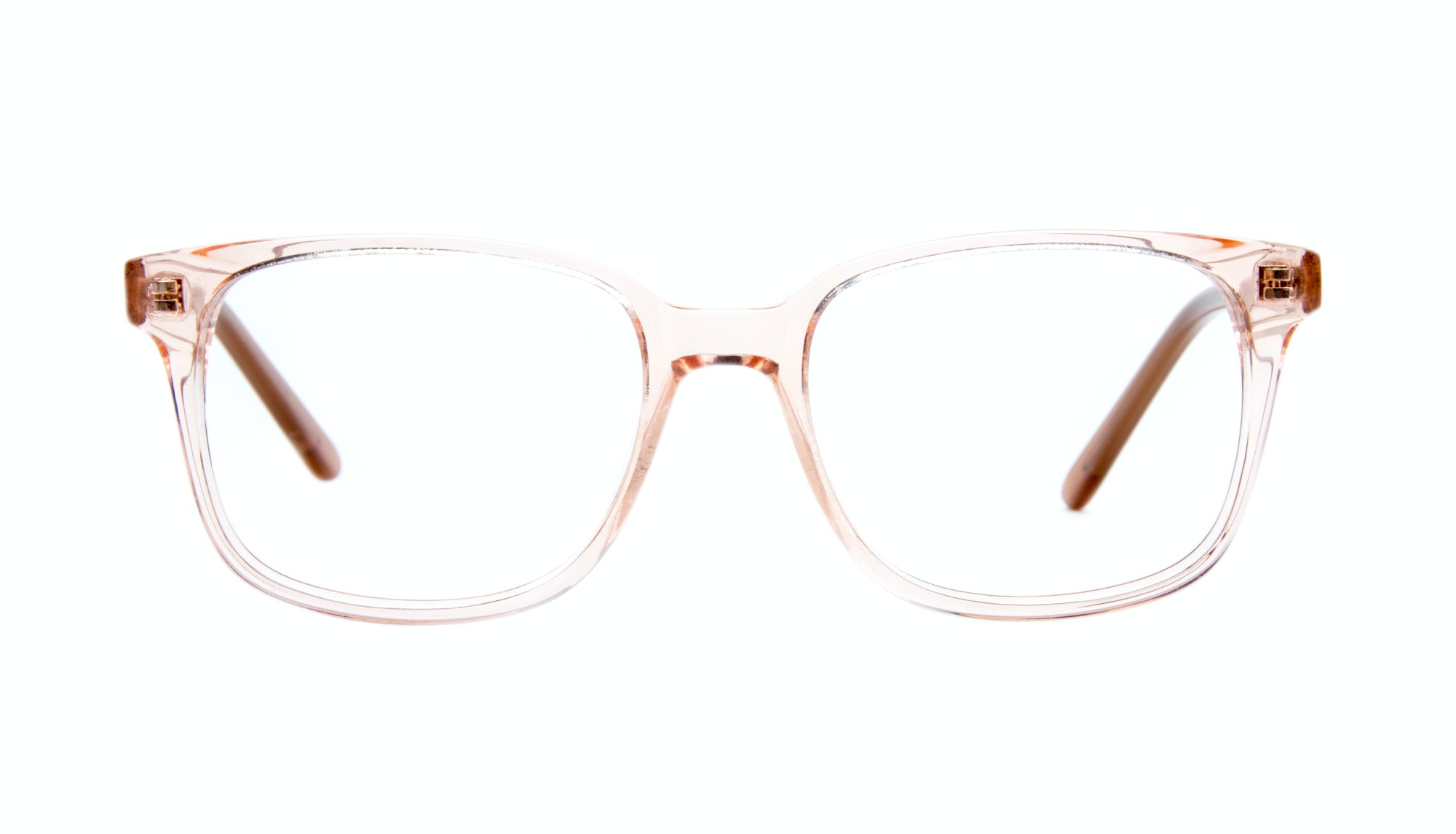 Affordable Fashion Glasses Rectangle Square Eyeglasses Women Windsor Pink Metal Front