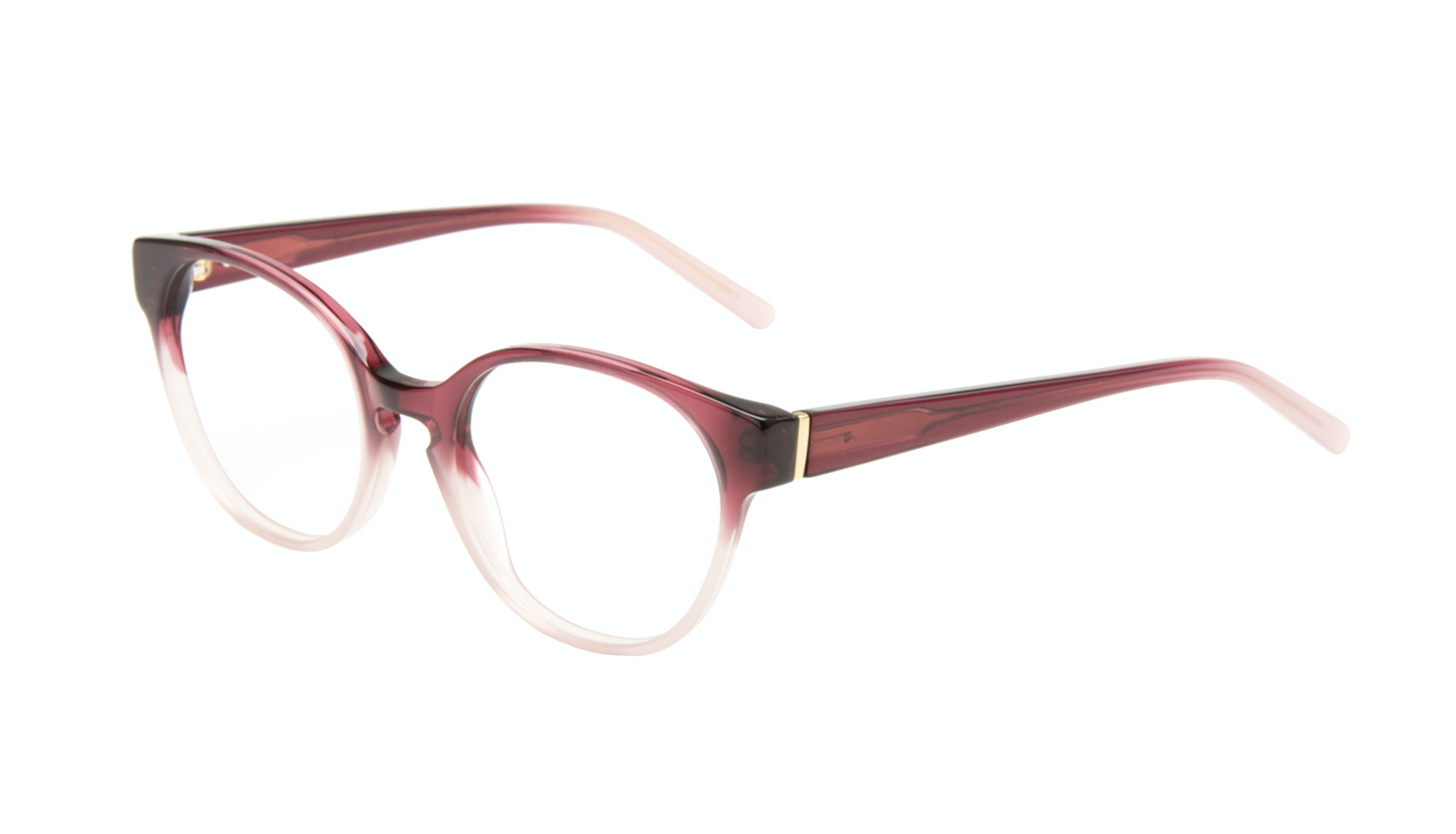 Affordable Fashion Glasses Round Eyeglasses Women Winsome Berry Tilt