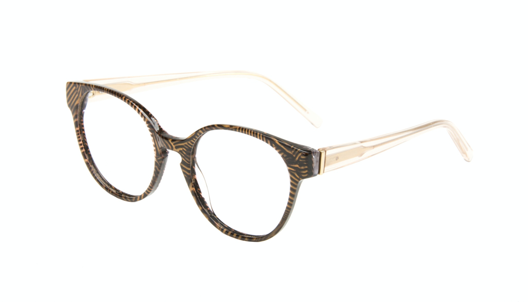 Affordable Fashion Glasses Round Eyeglasses Women Winsome Copper Tort Tilt