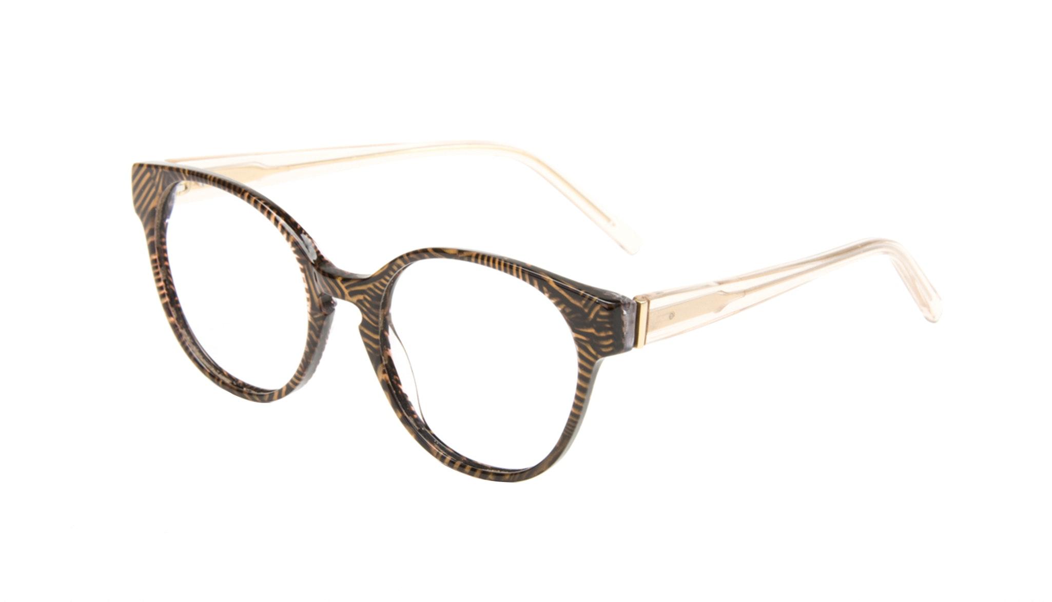 Affordable Fashion Glasses Round Eyeglasses Women Winsome Copper Tort Tilt