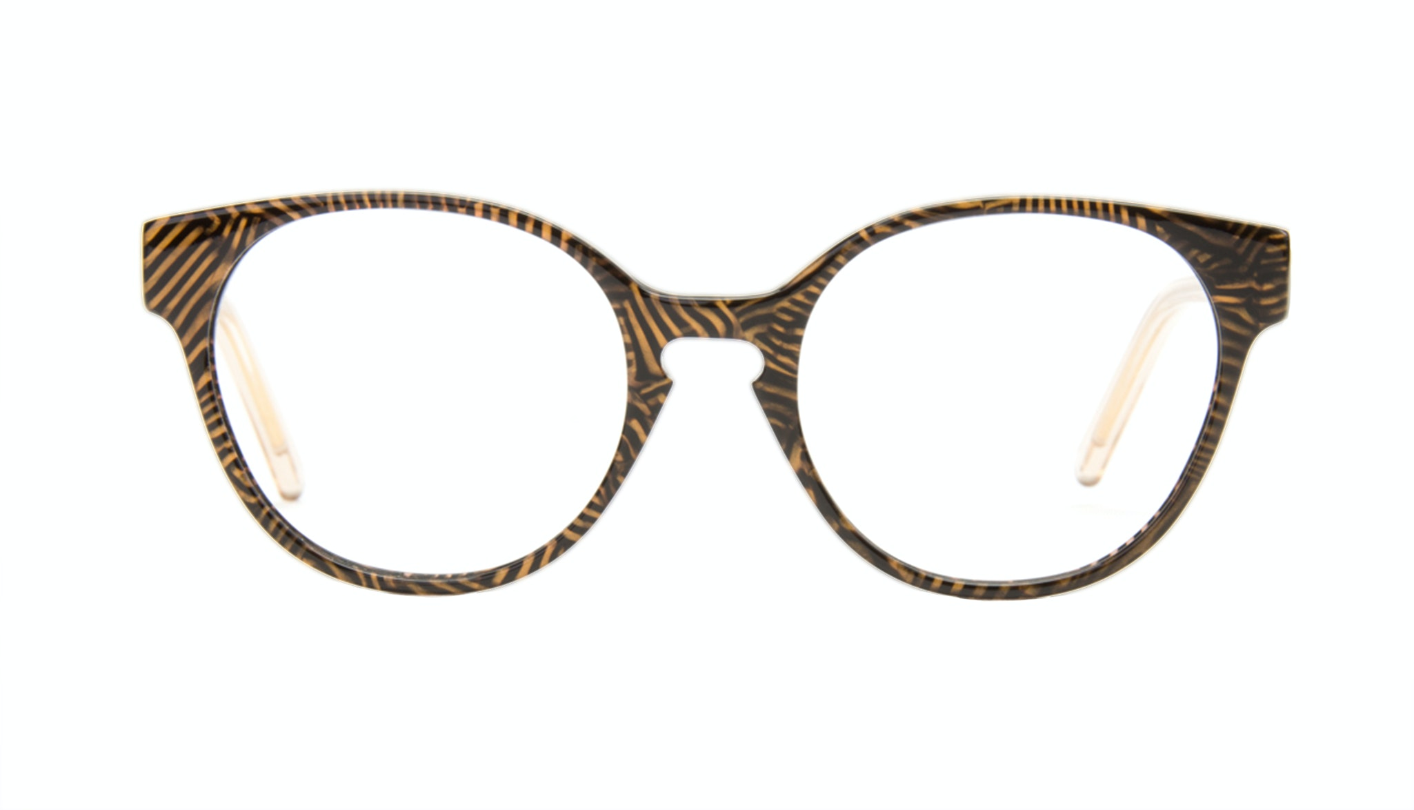 Affordable Fashion Glasses Round Eyeglasses Women Winsome Copper Tort Front