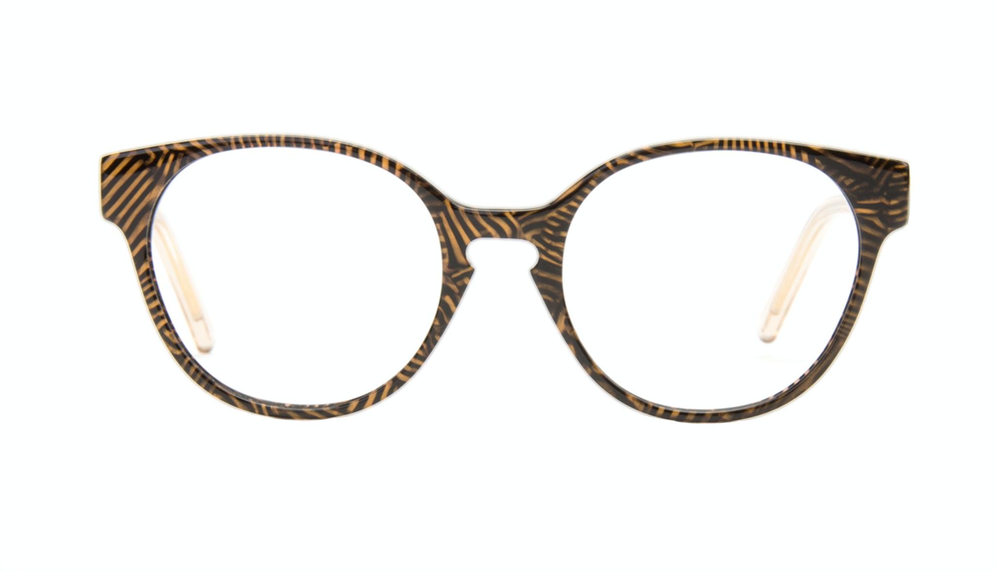 Lunettes tendance Ronde Optiques Femmes Winsome Copper Tort
