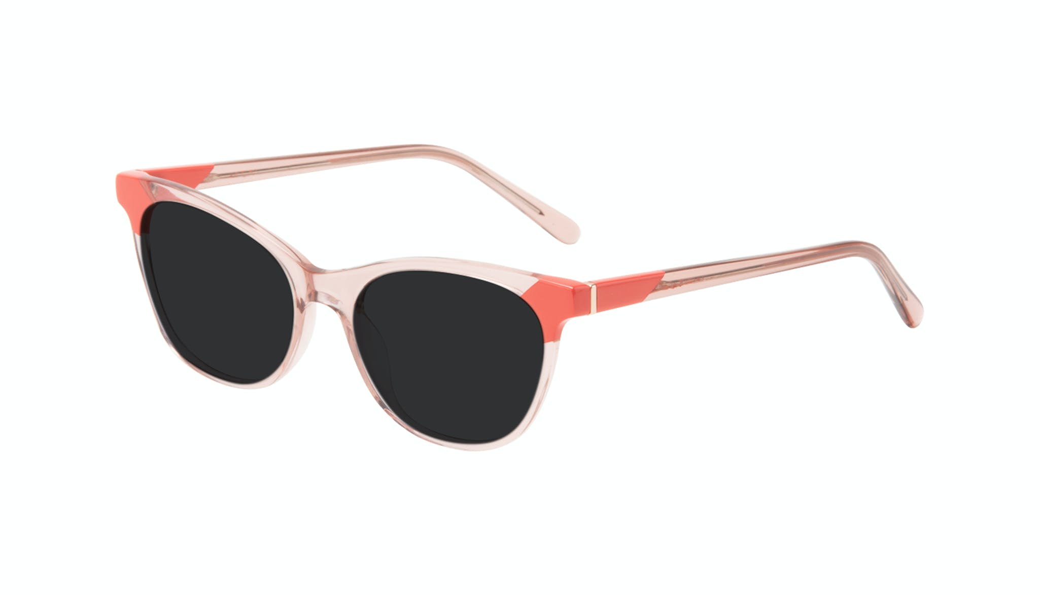 Affordable Fashion Glasses Cat Eye Sunglasses Women Witty Pink Coral Tilt