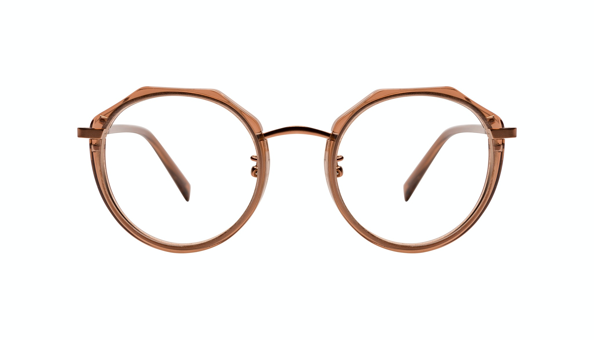 Affordable Fashion Glasses Round Eyeglasses Women Womance Jules Front