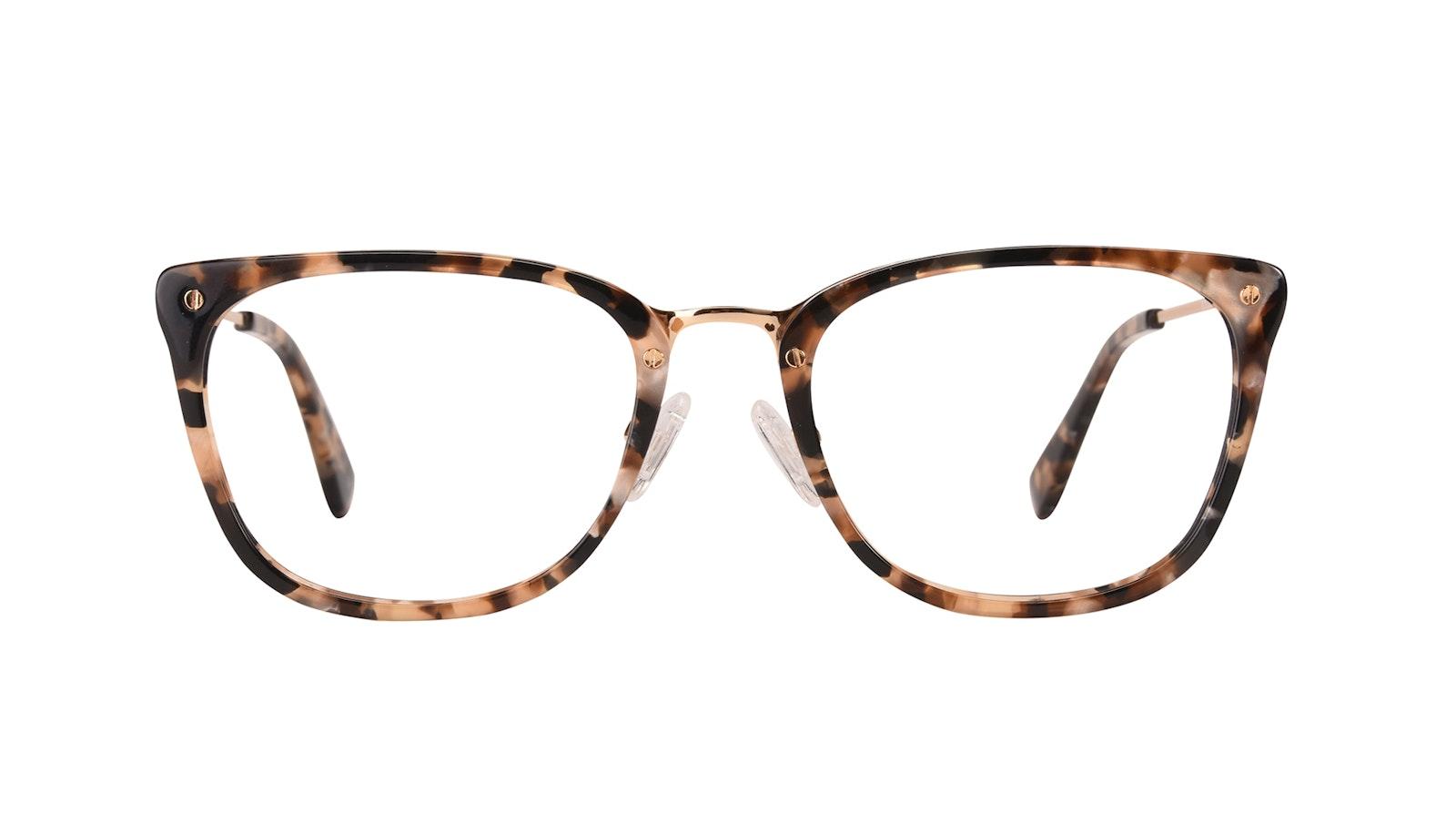 Affordable Fashion Glasses Rectangle Eyeglasses Women Wonder Gold Flake