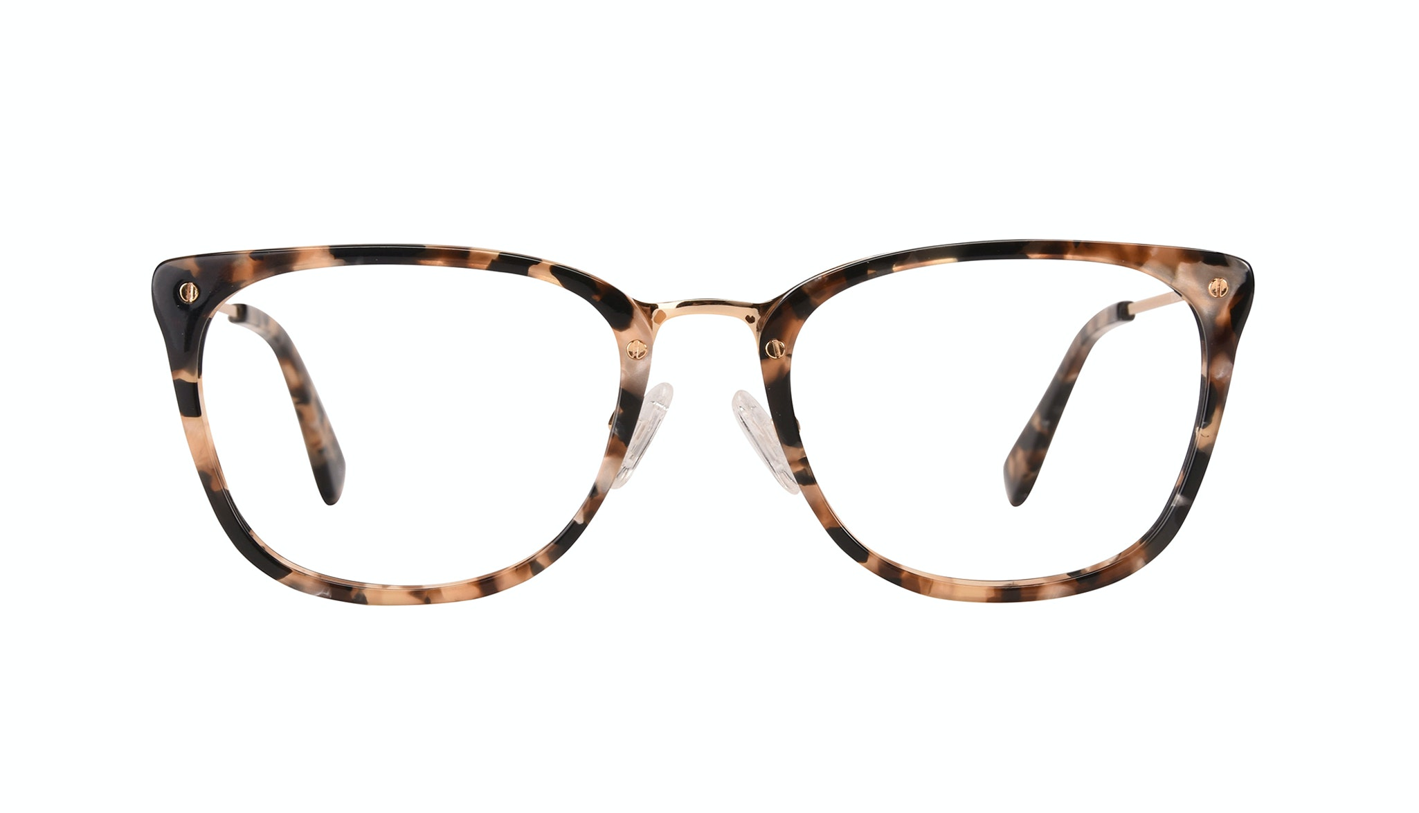 Affordable Fashion Glasses Rectangle Eyeglasses Women Wonder Gold Flake