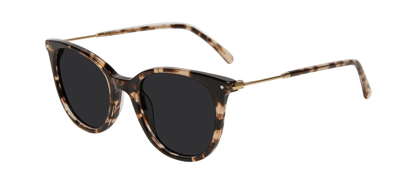 Affordable Fashion Glasses Square Sunglasses Women Wordly Leopard Tilt