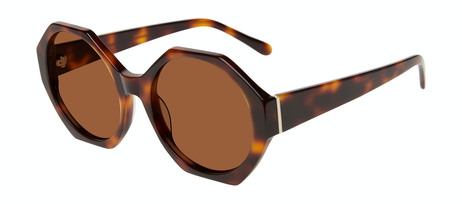 Affordable Fashion Glasses Square Sunglasses Women Zsa Zsa Tortoise Tilt