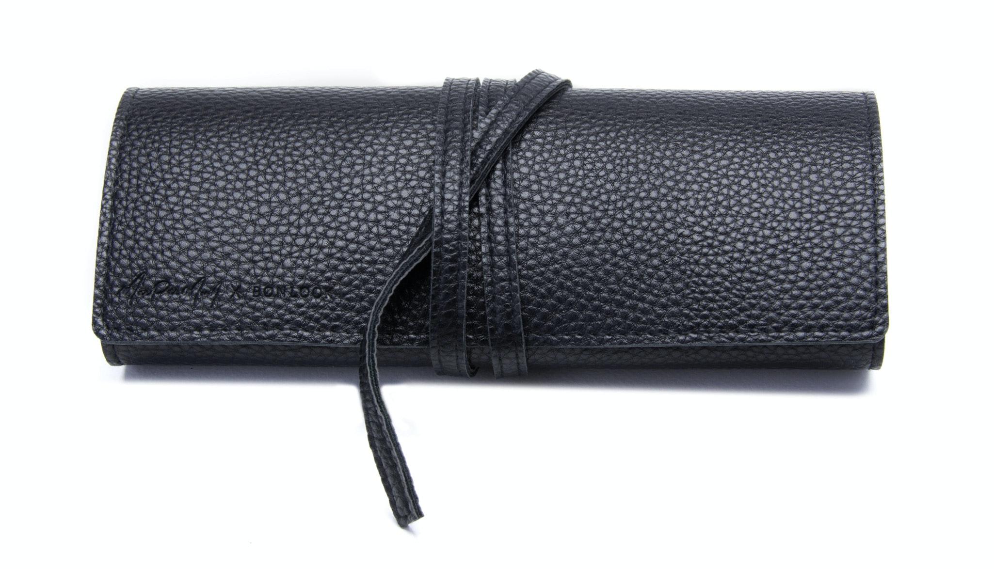 Affordable Fashion Glasses Accessory Women Wrap Case Maripier Morin Black
