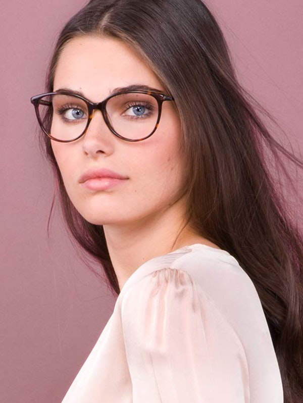 Affordable Fashion Glasses Cat Eye Eyeglasses Women Imagine Sepia Kiss