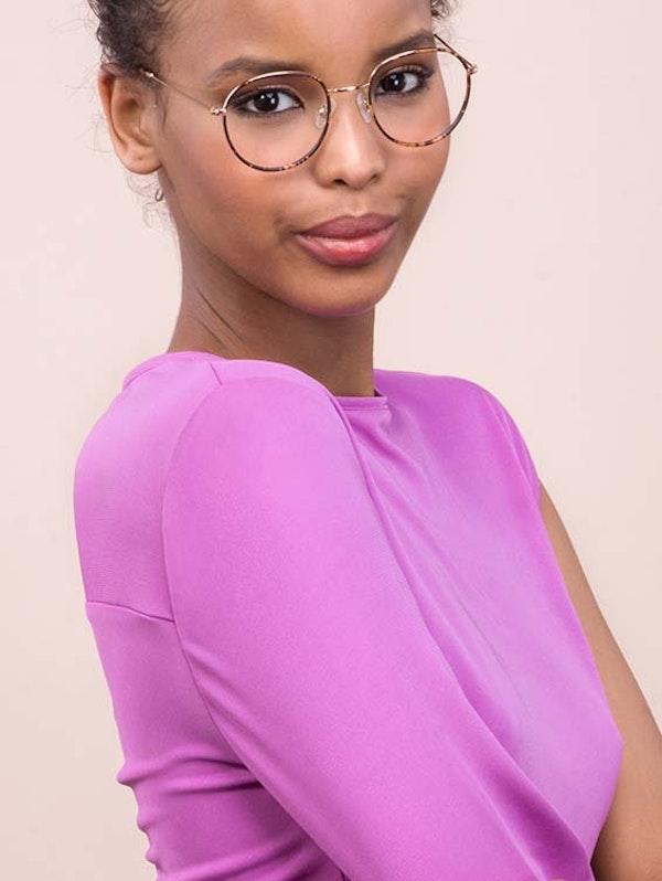Affordable Fashion Glasses Round Eyeglasses Women Subrosa Fauve