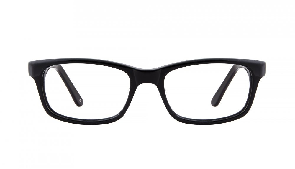Affordable Fashion Glasses Rectangle Eyeglasses Men Women Atwater Black