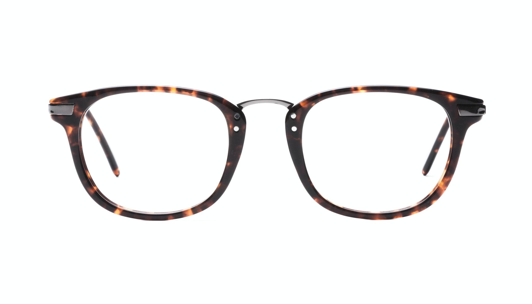 Affordable Fashion Glasses Rectangle Eyeglasses Men Women Daze Sepia Front