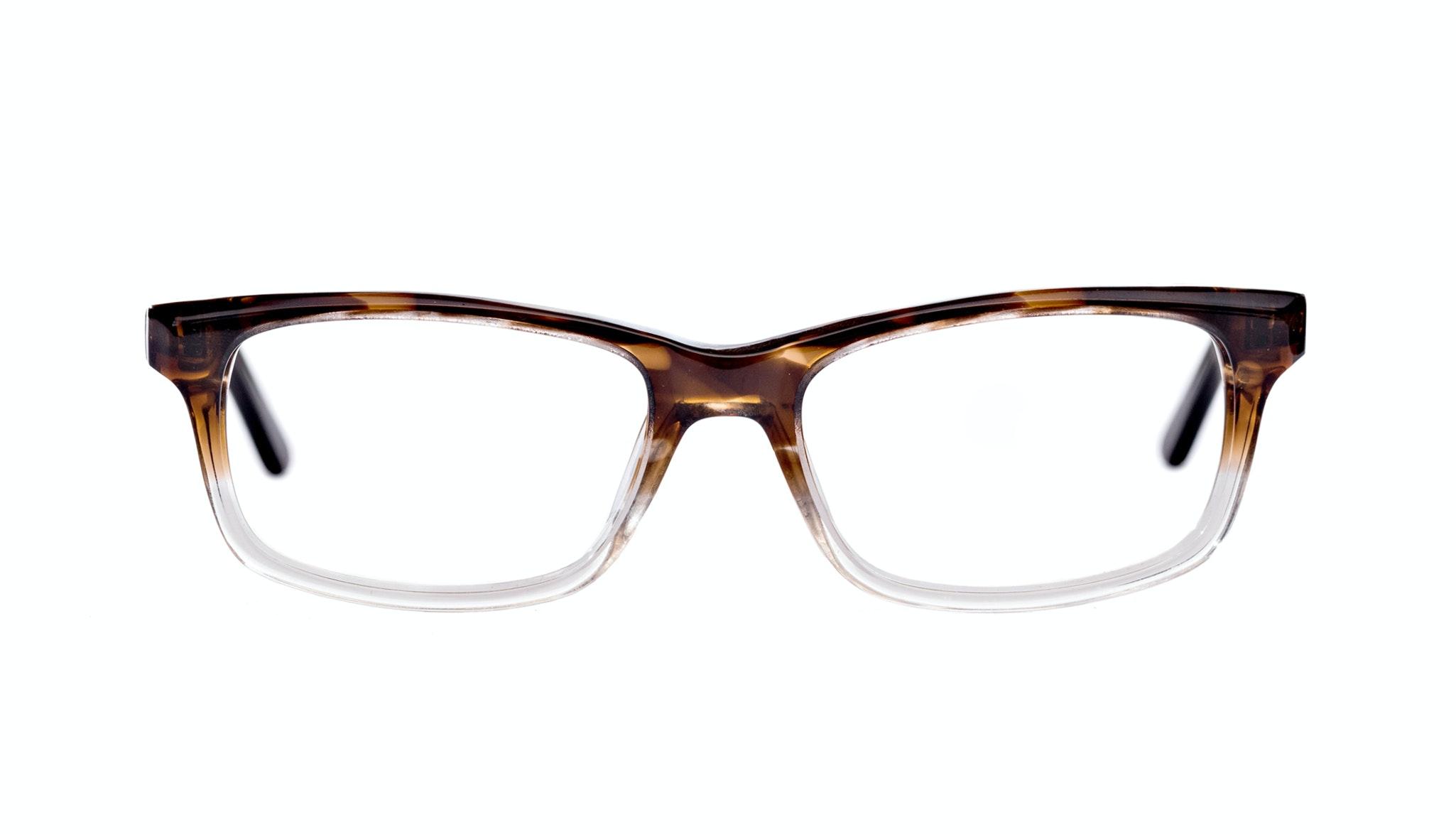 Affordable Fashion Glasses Rectangle Eyeglasses Men Women Atwater Bark Front