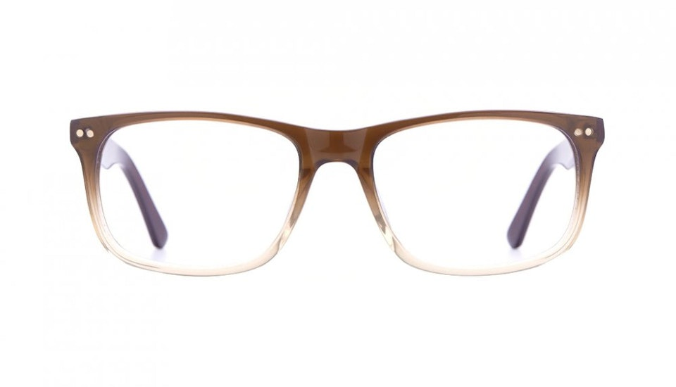 Affordable Fashion Glasses Rectangle Eyeglasses Men Women Dylan Cinnamon Brown Front