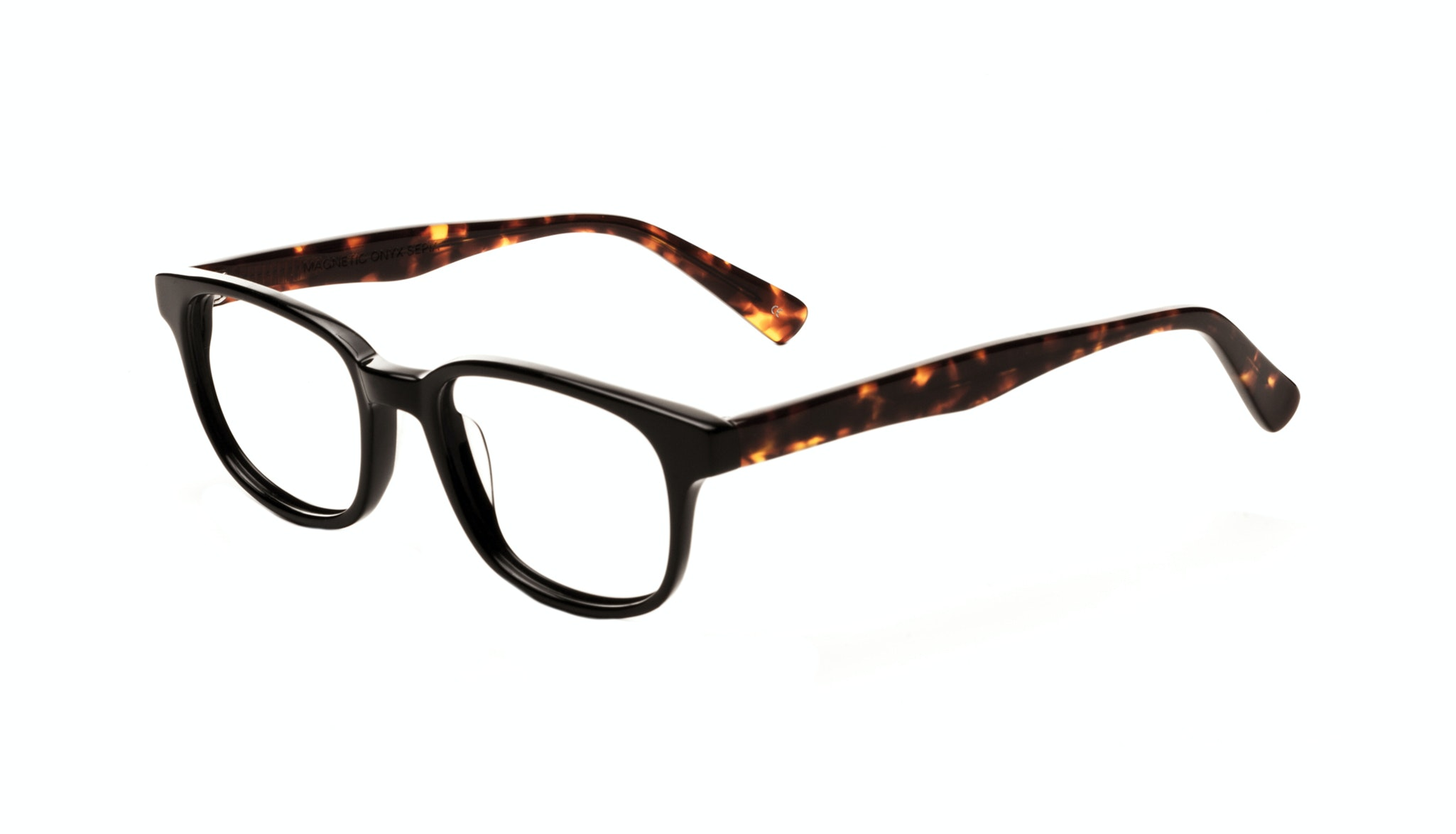 Affordable Fashion Glasses Rectangle Square Eyeglasses Men Women Magnetic Onyx Sepia Tilt