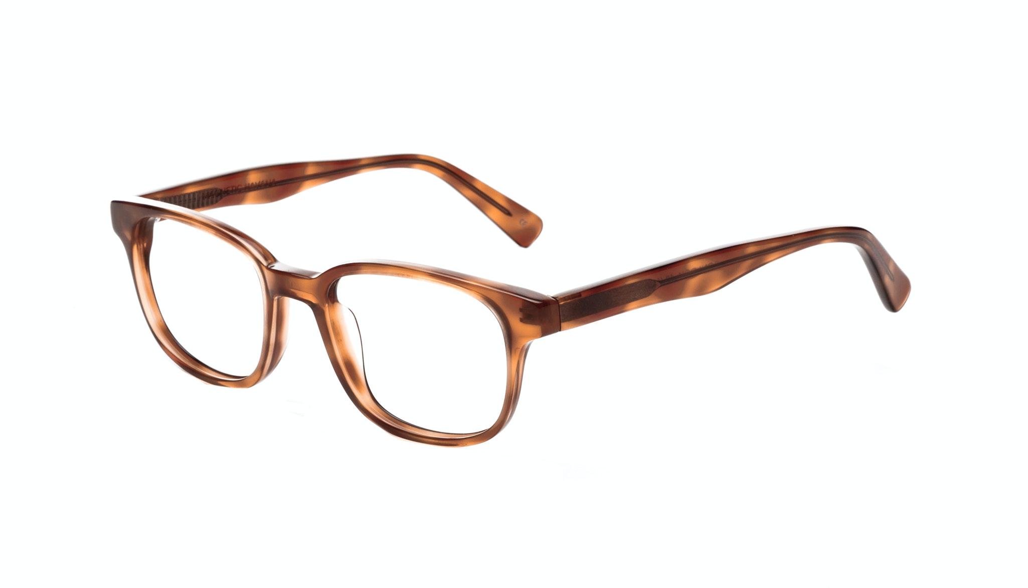 Affordable Fashion Glasses Rectangle Square Eyeglasses Men Women Magnetic Havana Tilt