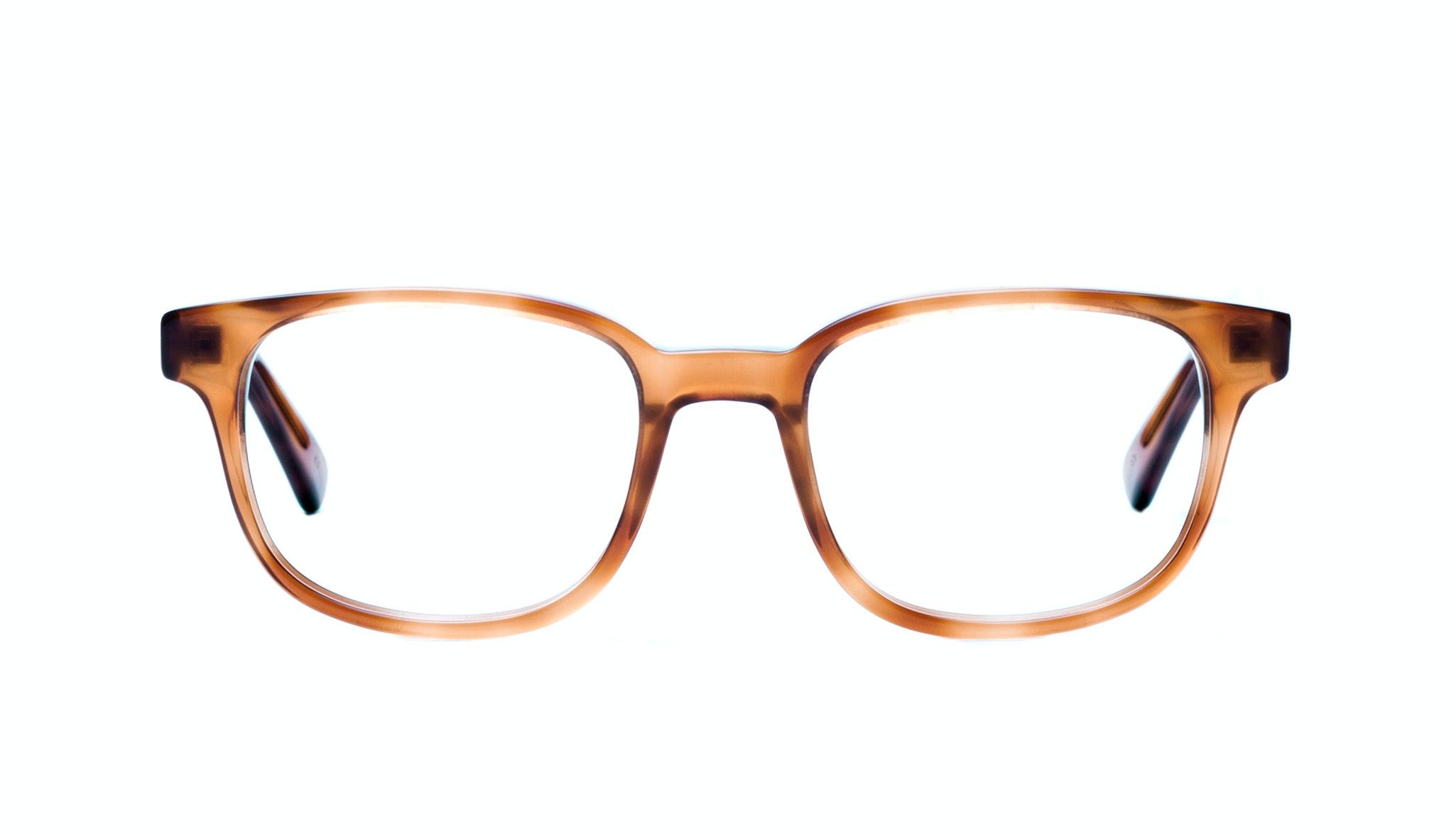Affordable Fashion Glasses Rectangle Square Eyeglasses Men Women Magnetic Havana Front