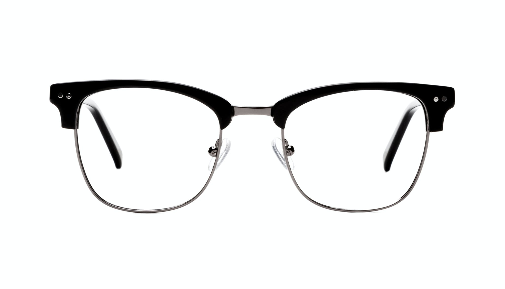 Affordable Fashion Glasses Square Eyeglasses Men Lift Onyx Front