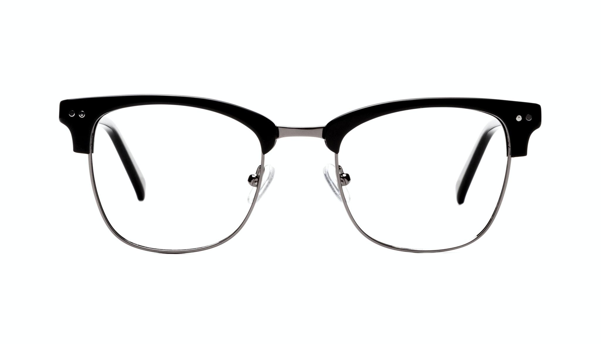 Affordable Fashion Glasses Square Eyeglasses Men Lift Onyx Front