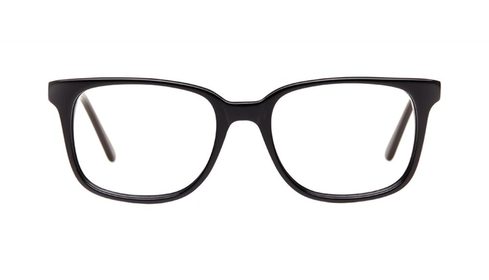 Affordable Fashion Glasses Rectangle Square Eyeglasses Women Windsor Black