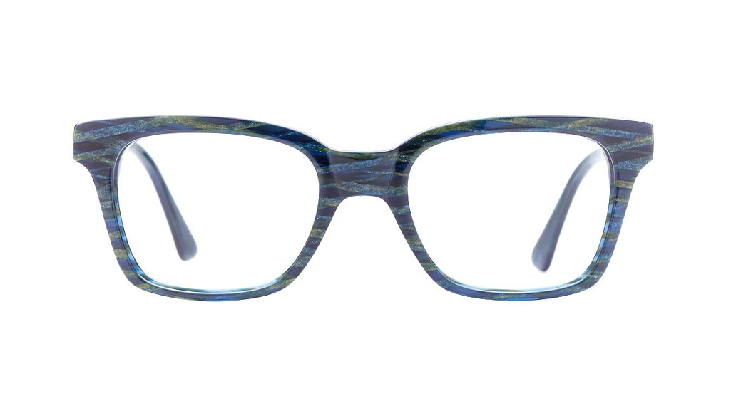 Affordable Fashion Glasses Square Eyeglasses Women Jungle Chic Pacific Front