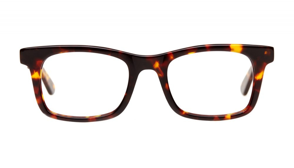 Affordable Fashion Glasses Square Eyeglasses Men Women Belgo Sepia Kiss Front