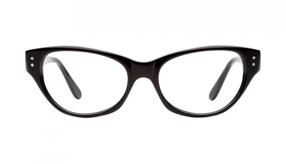 Affordable Fashion Glasses Cat Eye Eyeglasses Women Chitchat Black Front