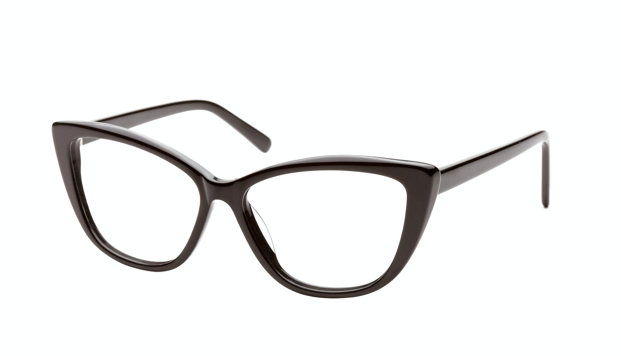 Affordable Fashion Glasses Cat Eye Eyeglasses Women Dolled Up Black Tilt