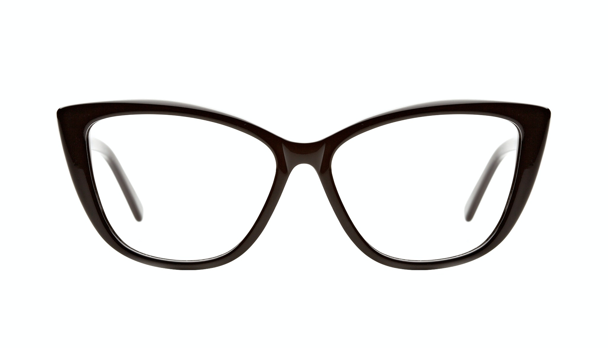Affordable Fashion Glasses Cat Eye Daring Cateye Eyeglasses Women Dolled Up Black Front