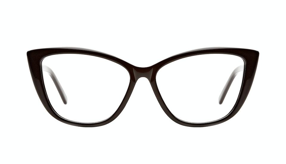 Affordable Fashion Glasses Cat Eye Eyeglasses Women Dolled Up Black Front