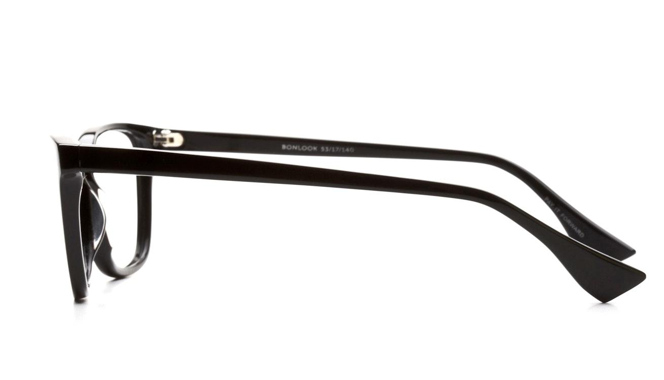 Affordable Fashion Glasses Cat Eye Eyeglasses Women Honeybadger Black Side