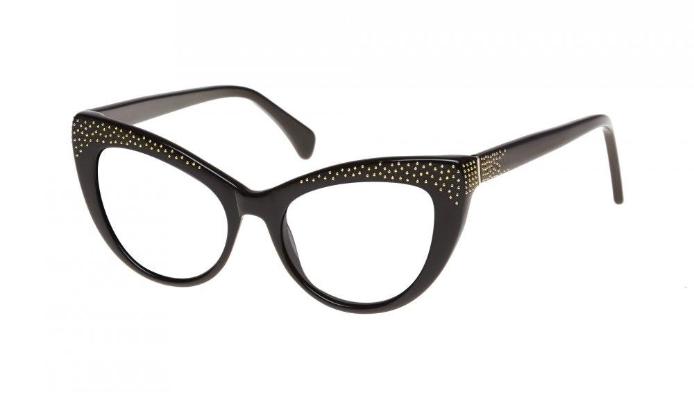 Affordable Fashion Glasses Cat Eye Eyeglasses Women Keiko Roxy Noir Tilt