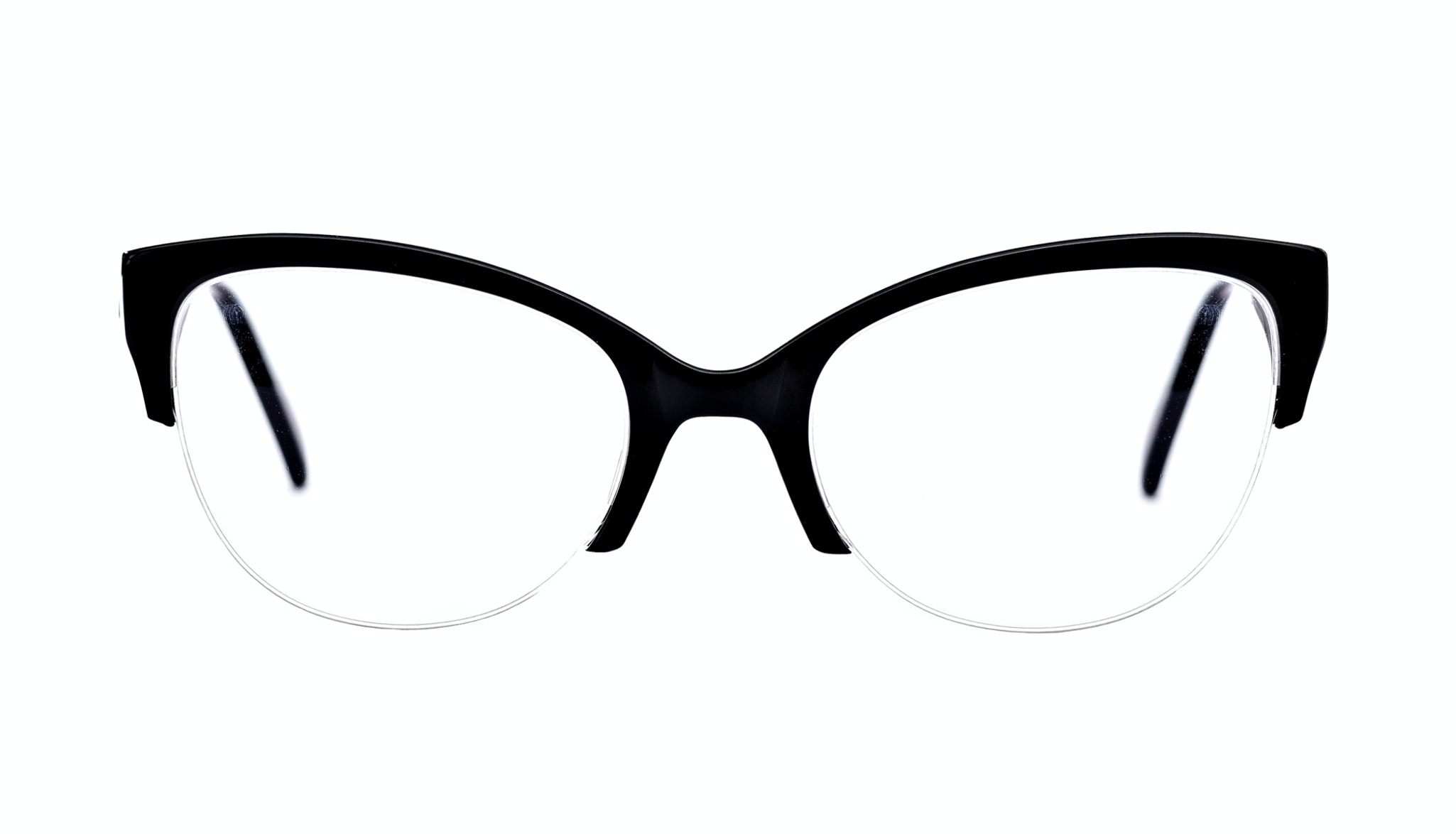 Affordable Fashion Glasses Cat Eye Eyeglasses Women Lovely Ebony Front
