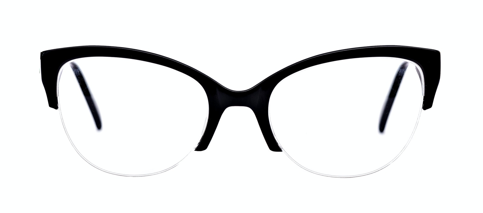 fdac7dc561 ... Affordable Fashion Glasses Cat Eye Eyeglasses Women Lovely Ebony Front  ...