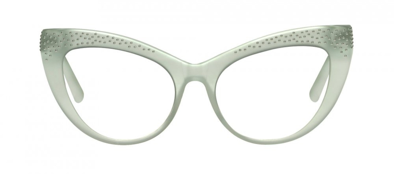 Affordable Fashion Glasses Cat Eye Daring Cateye Eyeglasses Women Keiko Miku Mint Front