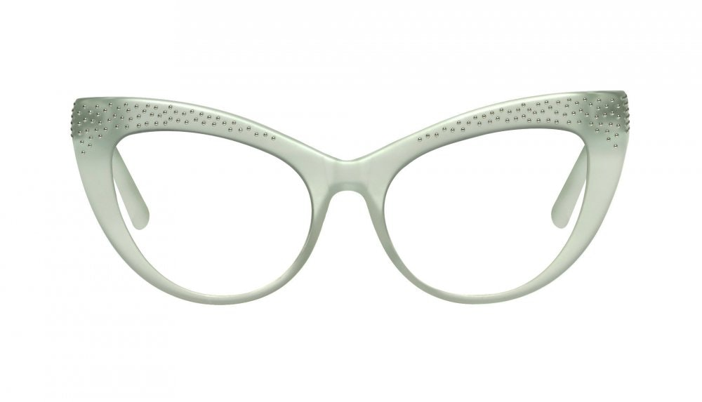Affordable Fashion Glasses Cat Eye Eyeglasses Women Keiko Miku Mint
