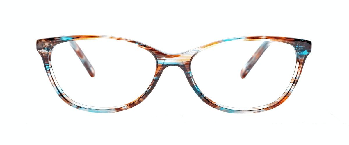 Glasses Frames In Blue : Womens Eyeglasses - Vivid in Blue Velvet BonLook