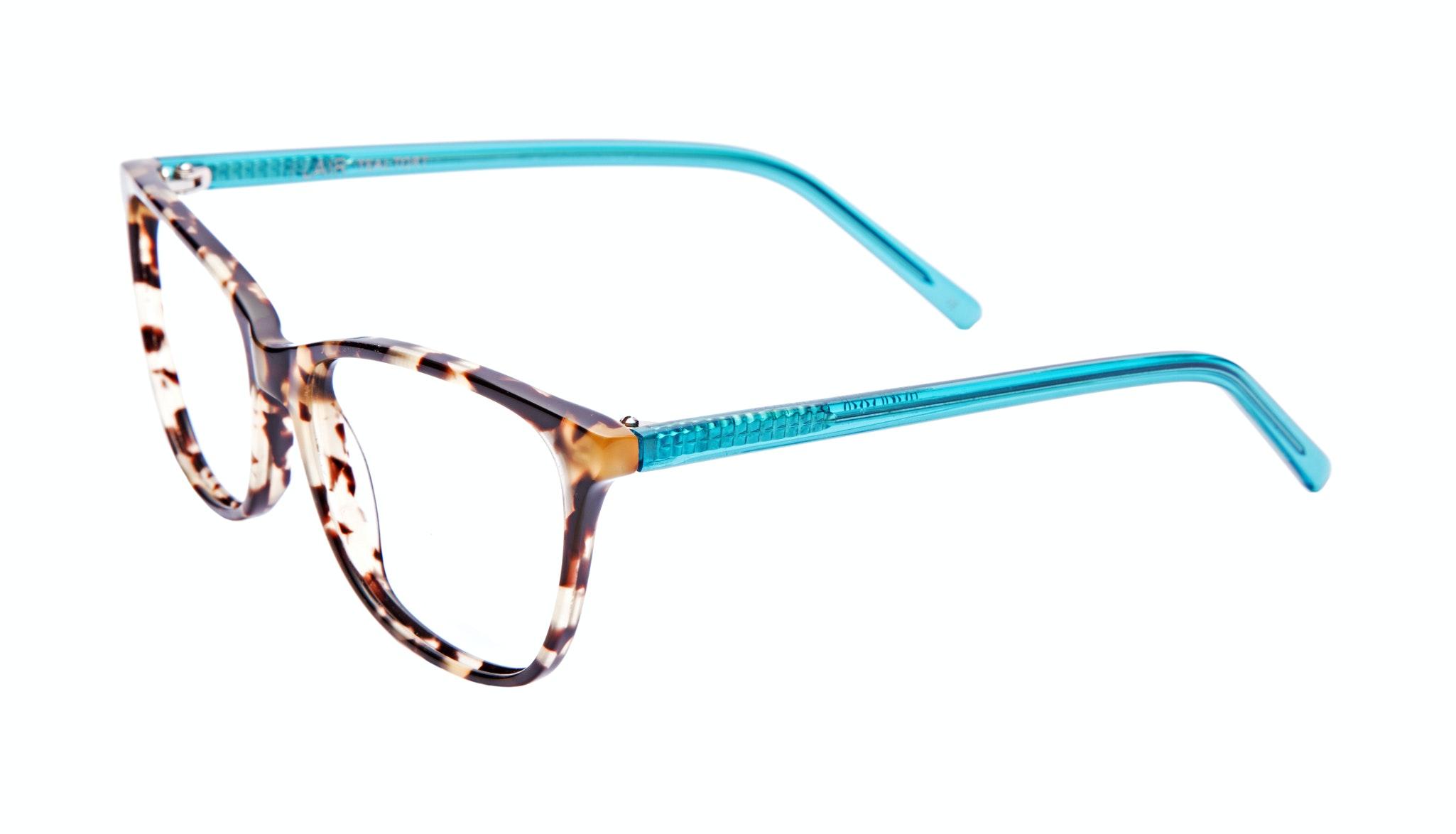 Affordable Fashion Glasses Cat Eye Eyeglasses Women Flair Teal Tort Tilt