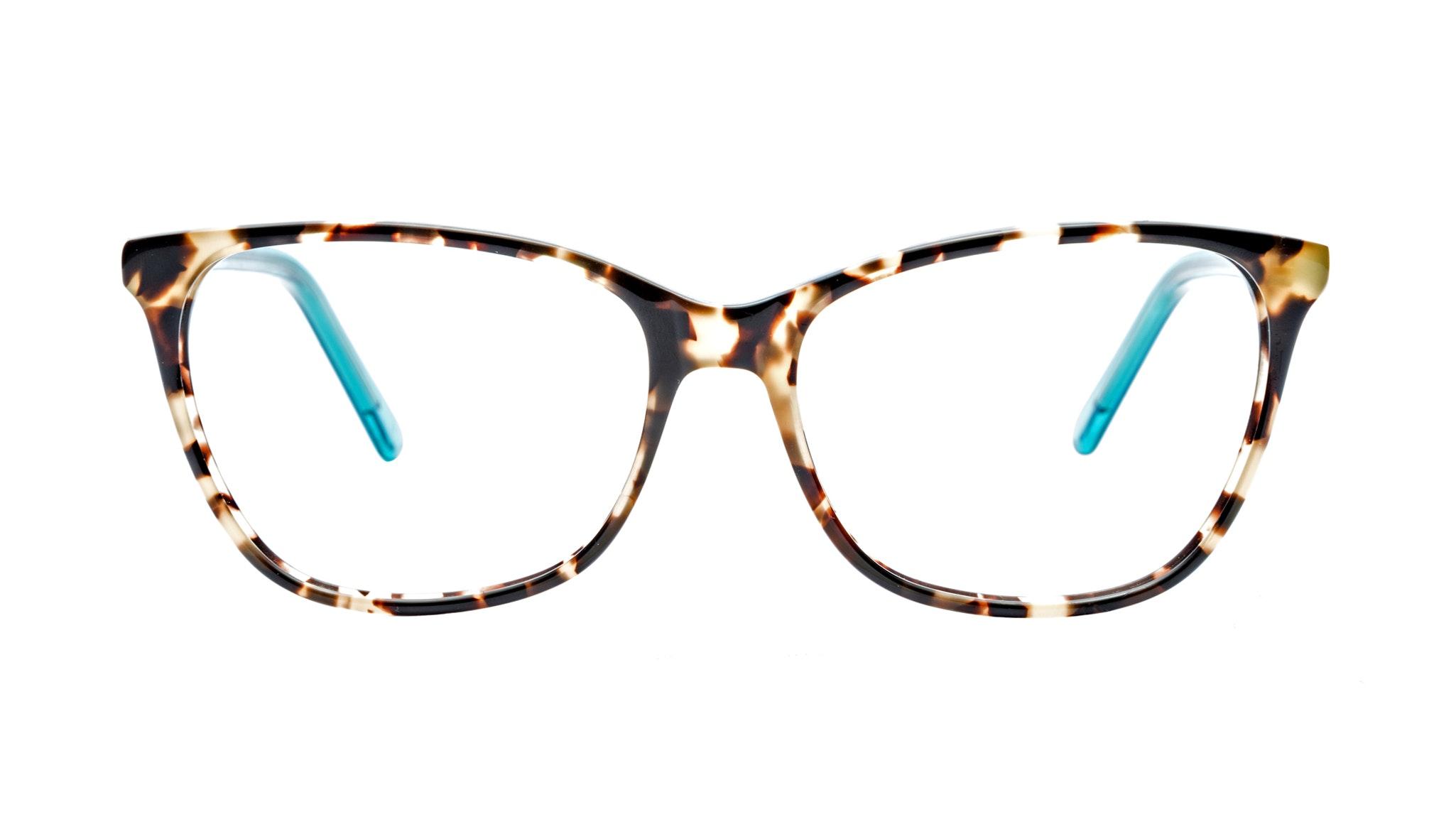 Affordable Fashion Glasses Cat Eye Eyeglasses Women Flair Teal Tort Front